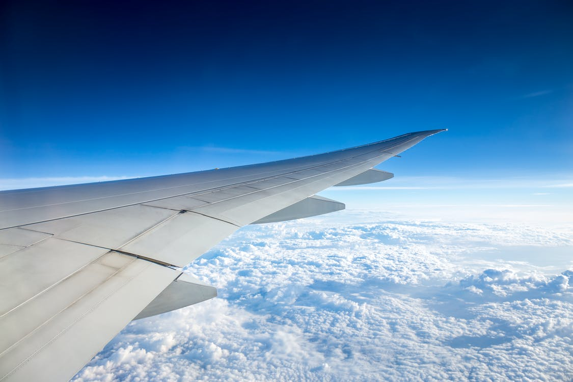 felhők, közlekedési rendszer, repülés