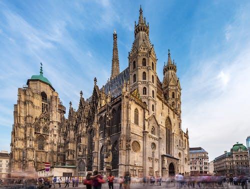 คลังภาพถ่ายฟรี ของ domkirche, innere, österreich, stephansdom