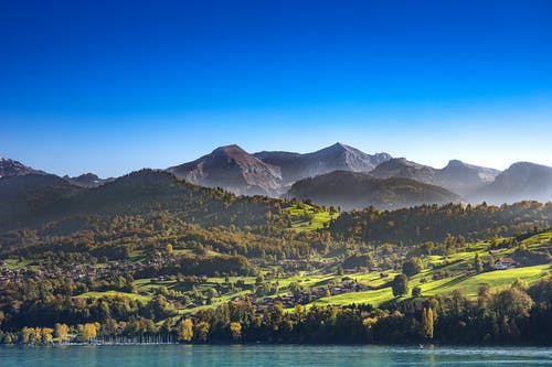 คลังภาพถ่ายฟรี ของ interlaken, ที่ราบสูง, ธรรมชาติ, ประเทศสวิสเซอร์แลนด์