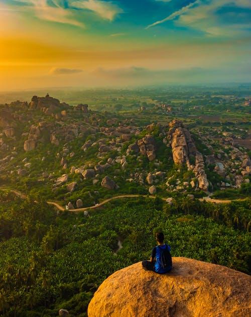 Immagine gratuita di alba, destinazione del viaggio, fotografo, hampi
