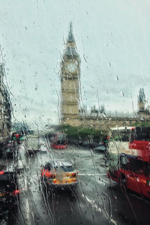 Free stock photo of architecture, big ben, buildings, bus