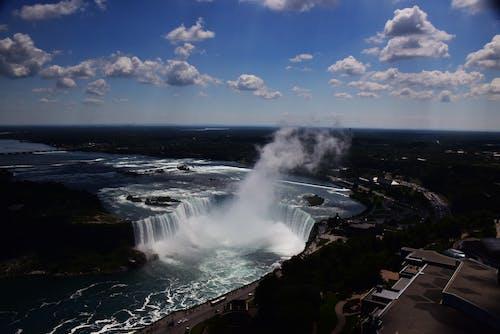 Základová fotografie zdarma na téma Spojené státy americké, vodopád