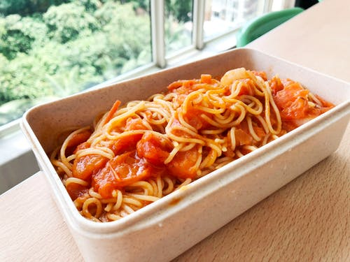 Free stock photo of fast food, spaghetti