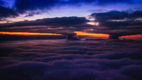 Free stock photo of blue sky, dramatic sky, flight