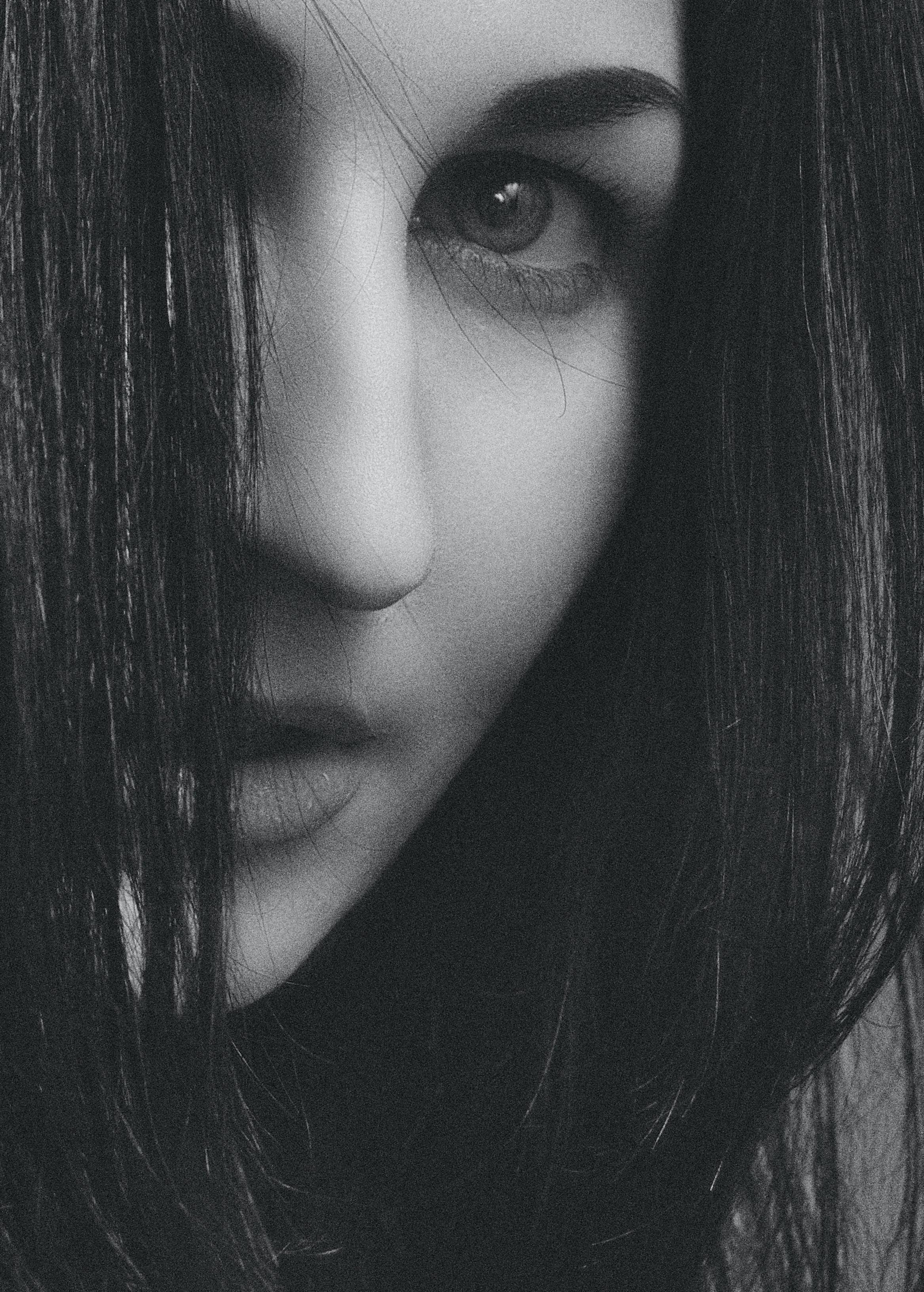 Kostenloses Stock Foto zu девушка, портрет, студийный, улыбка