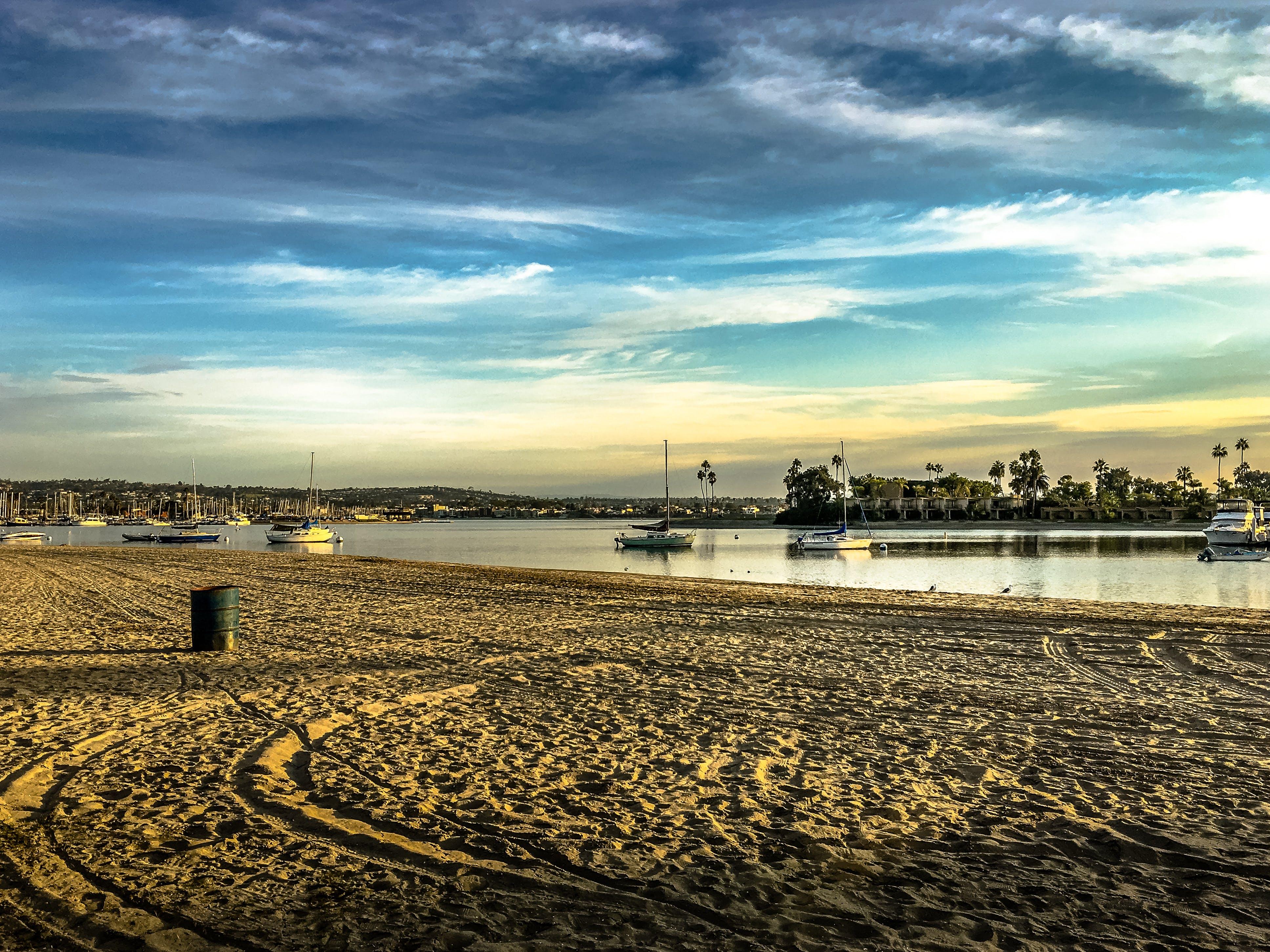 beach, beautiful, blue sky