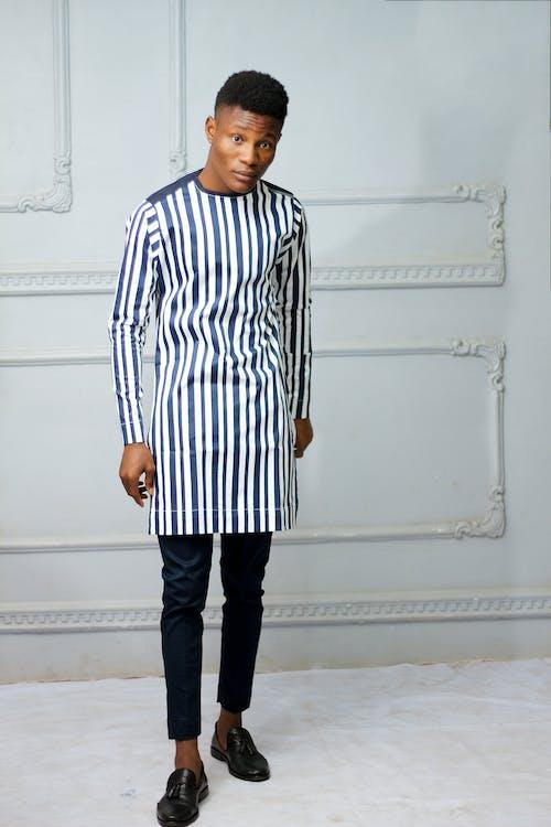 Kostenloses Stock Foto zu black male, fashion, fotoshooting, gesichtsausdruck