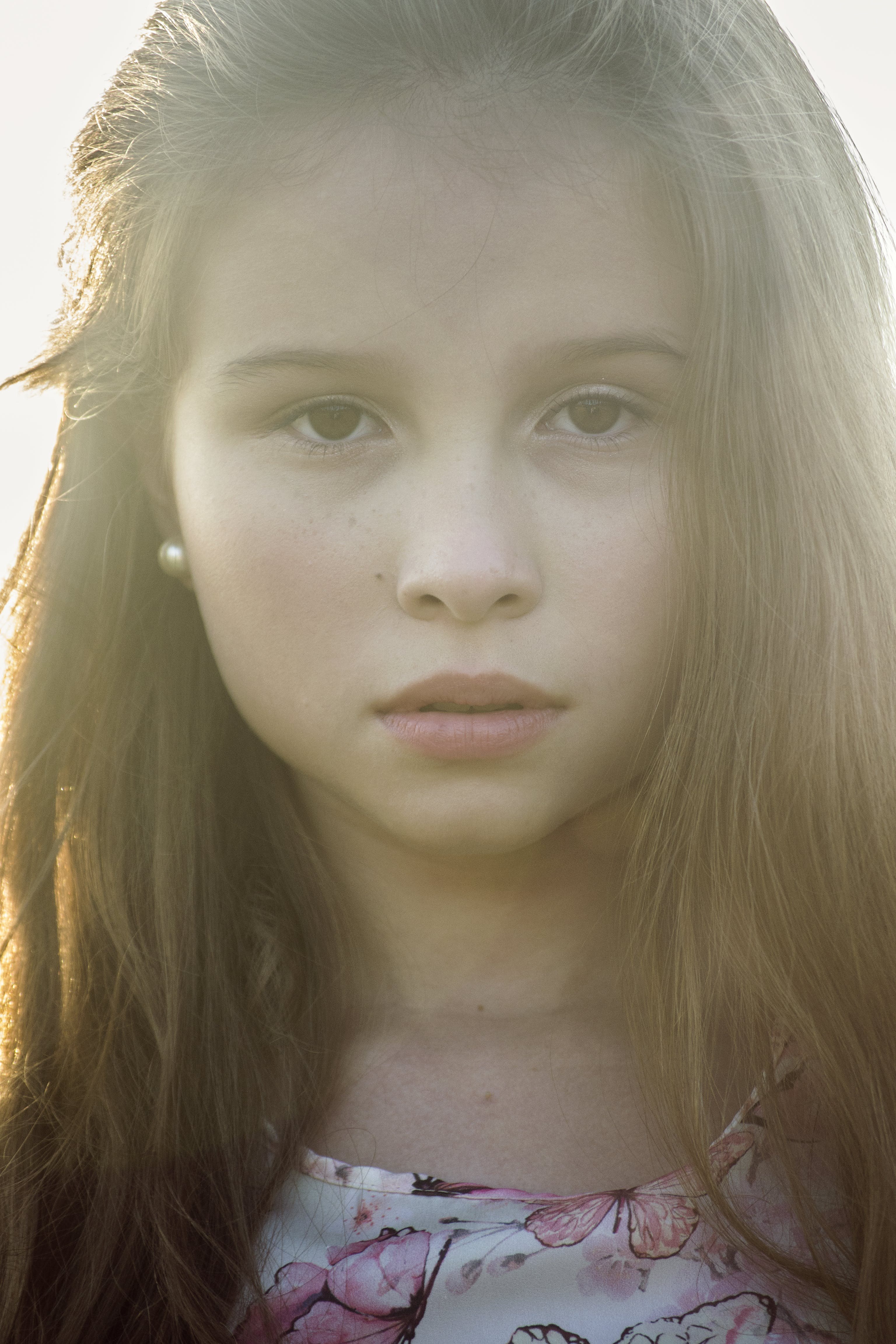 Free stock photo of beautiul, children, girl, model