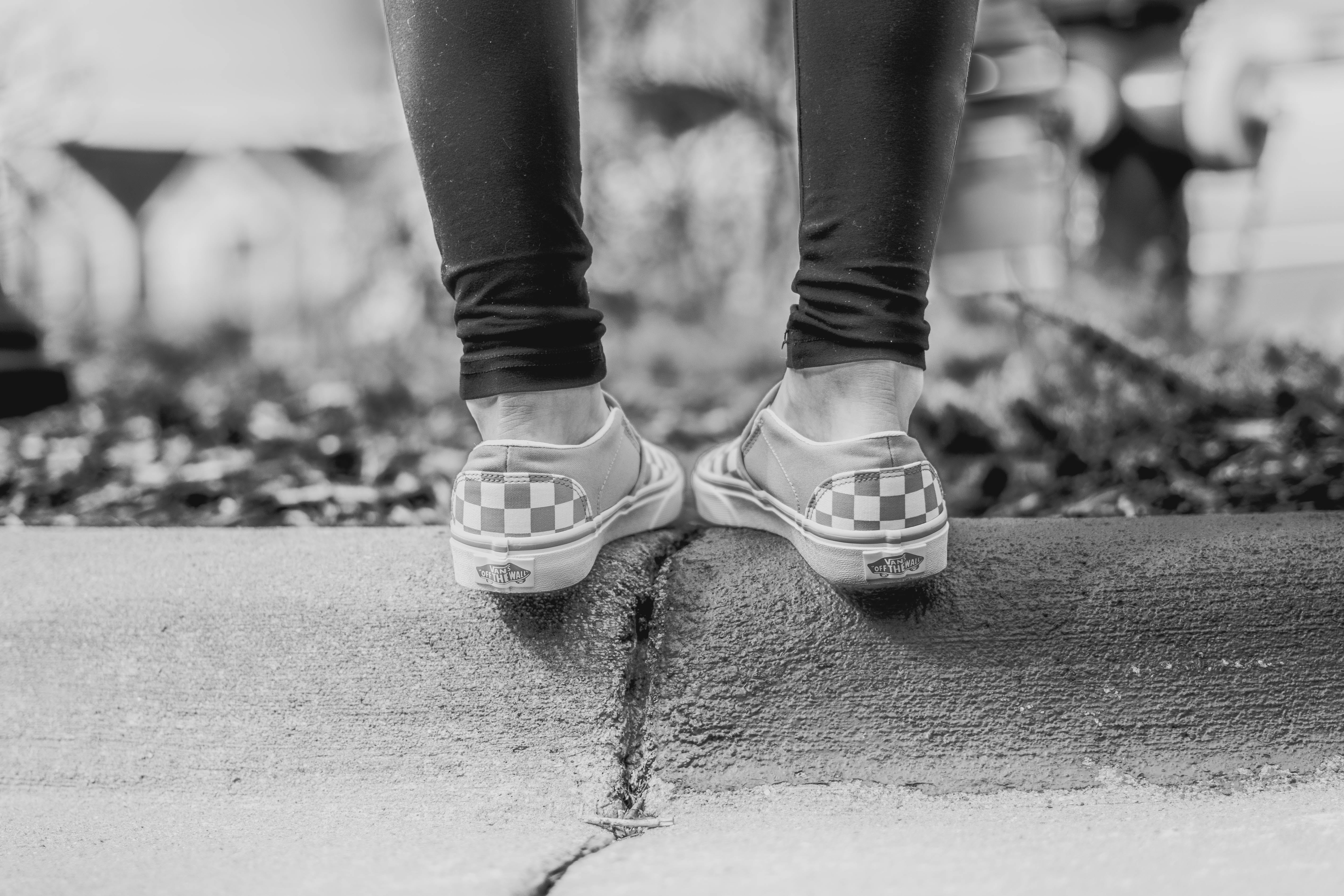 Free stock photo of fashion, vans, womesn shoes