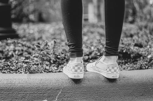 Kostnadsfri bild av kvinno skor, mode, vans