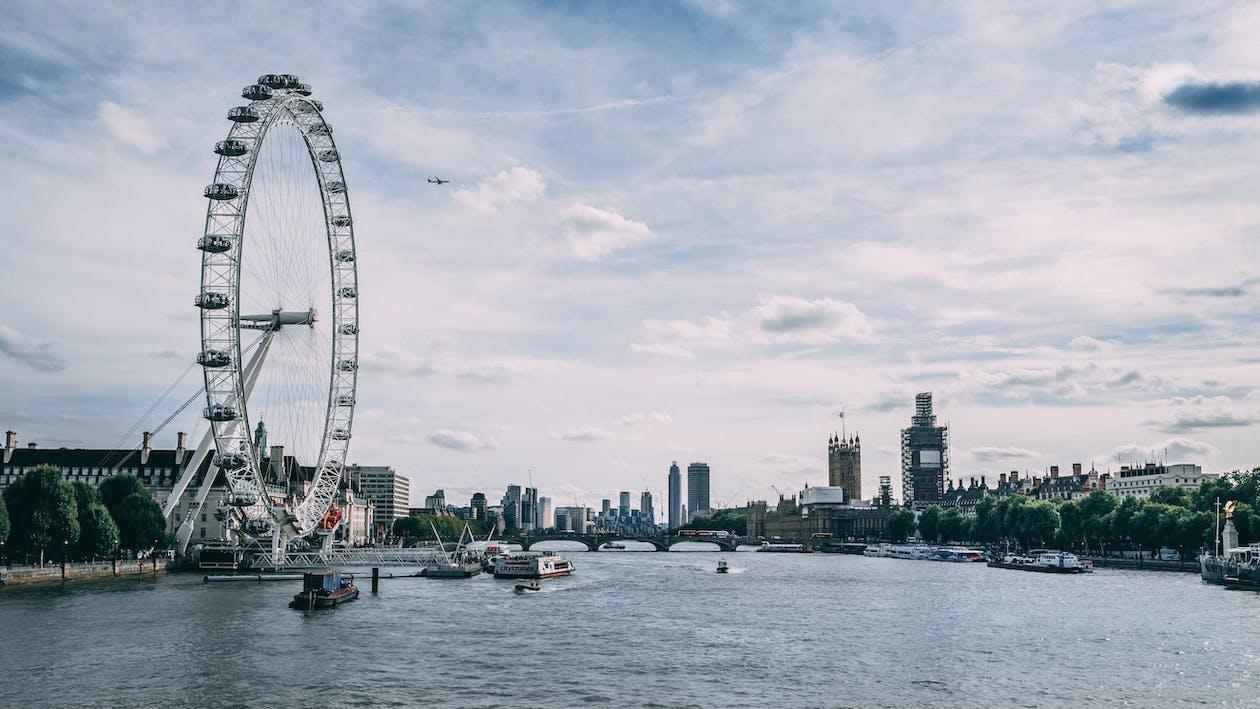 London Eye, Londýn, město