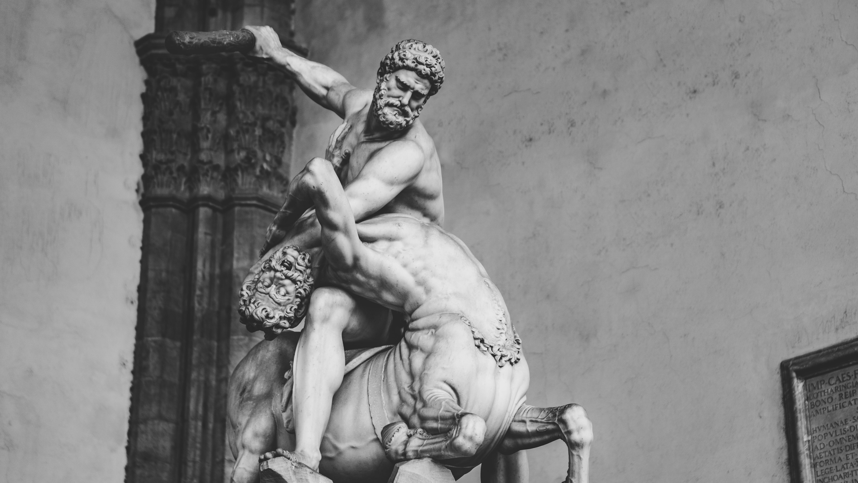 Foto d'estoc gratuïta de art, blanc i negre, escultura, estàtua