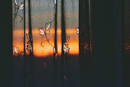 Foto d'estoc gratuïta de art, clareja, color, cortina
