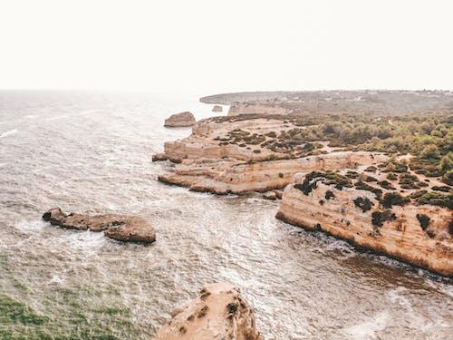 Gratis stockfoto met drone fotografie, Europa, kliffen, kustlijn
