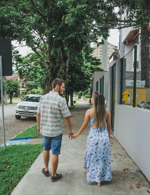 Fotos de stock gratuitas de amor, arboles, calle, césped