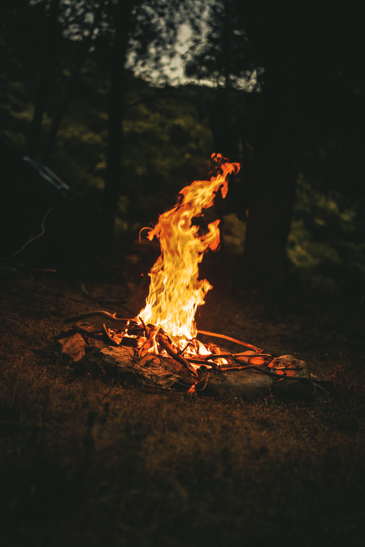 Foto profissional grátis de calor, chama, desafioaoarlivre, fogo