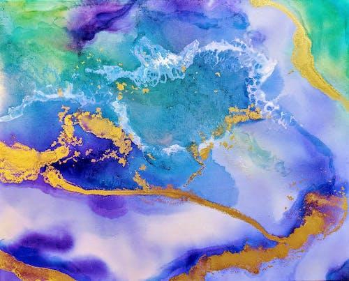 Photos gratuites de amber lamoreaux, peinture abstraite