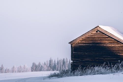Free stock photo of barn, timber, winter, winter background