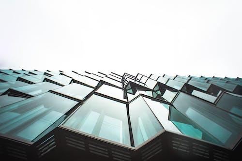 低角度拍攝, 城市, 天空, 市中心 的 免費圖庫相片