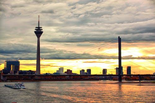 hdr, タワー, ドイツ人, ブリッジの無料の写真素材