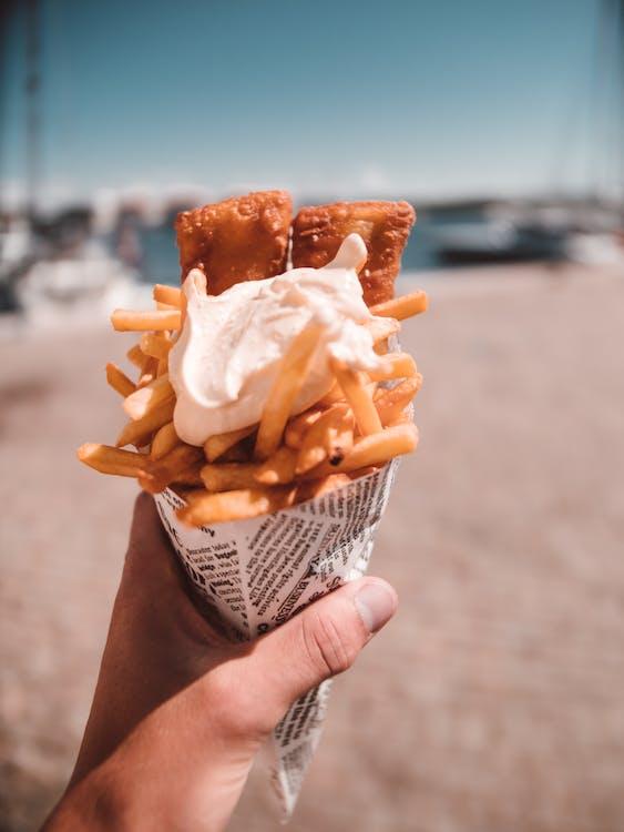 essen, fast food, fingerfood
