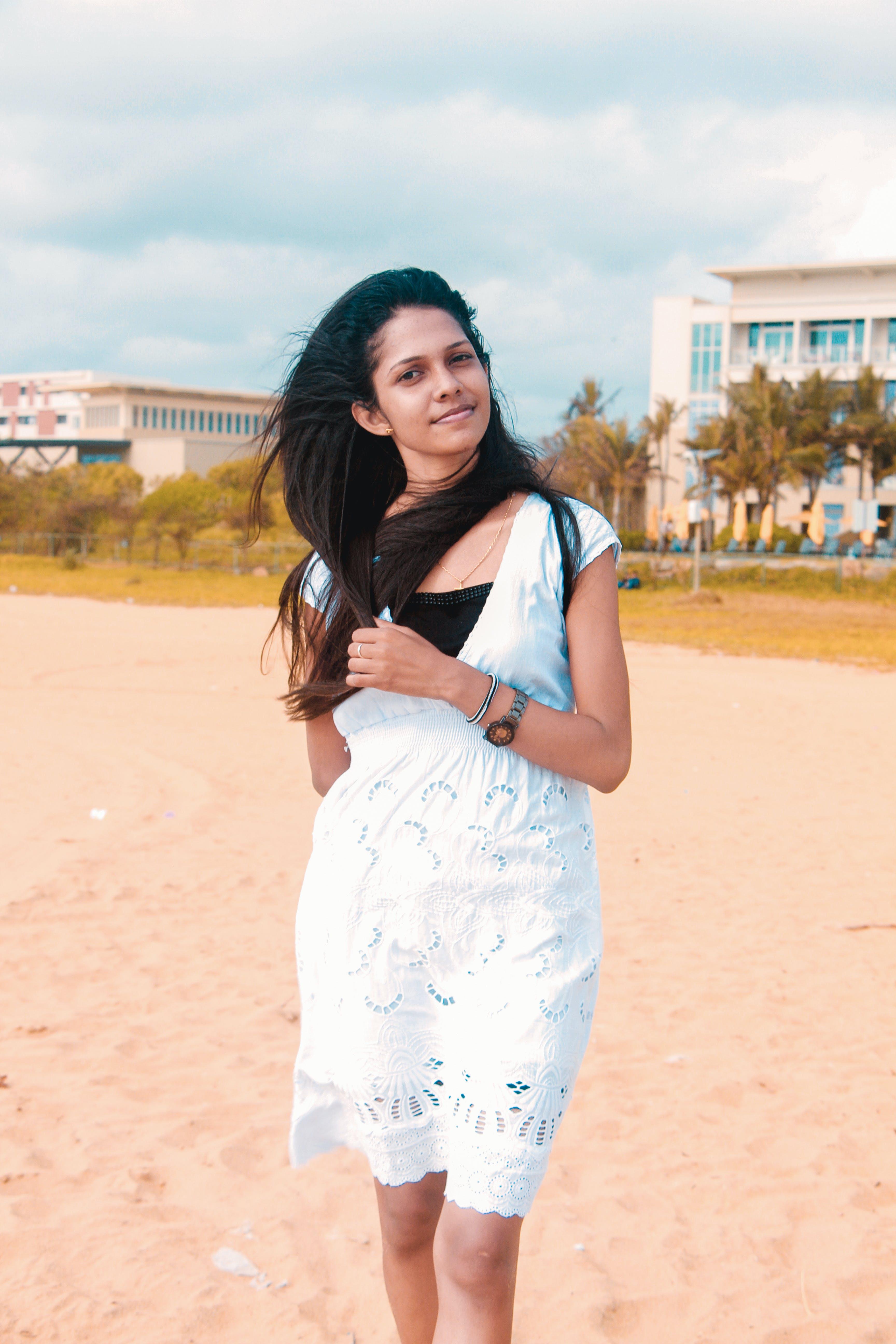 Free stock photo of asian girl, beach, city, girl