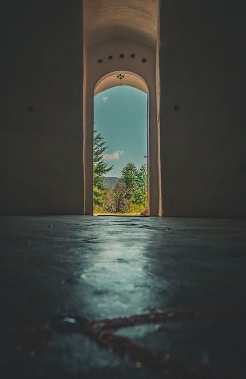 View of a Arch Door