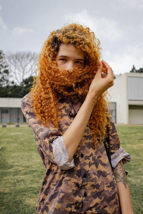 Бесплатное стоковое фото с волос, волосы, закрывать, мода