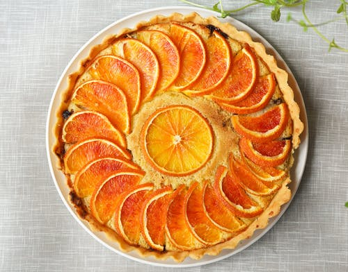 Baked Orange Pie