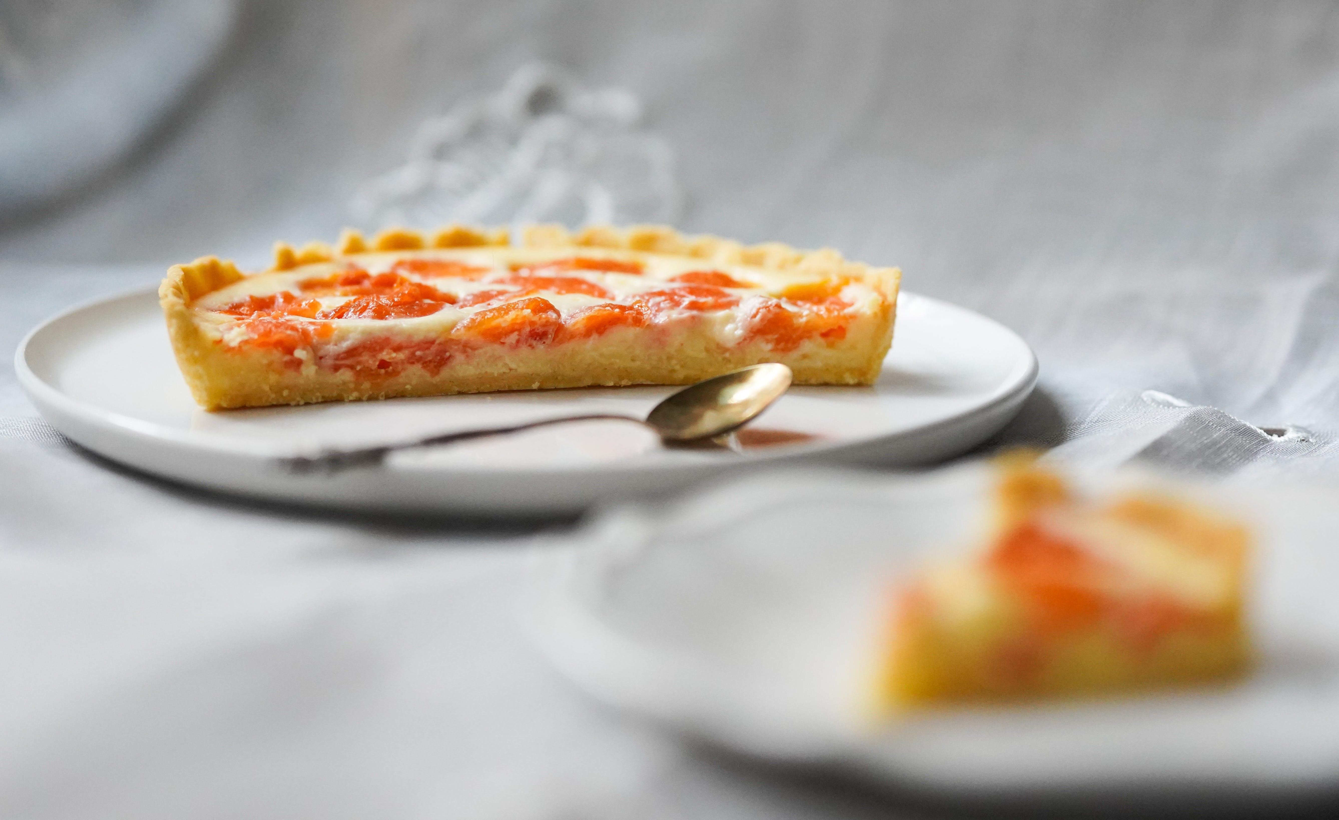 Sliced Pie in Plate