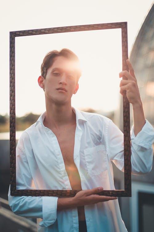 Fotobanka sbezplatnými fotkami na tému dobre vyzerajúci, model, modelka, muž