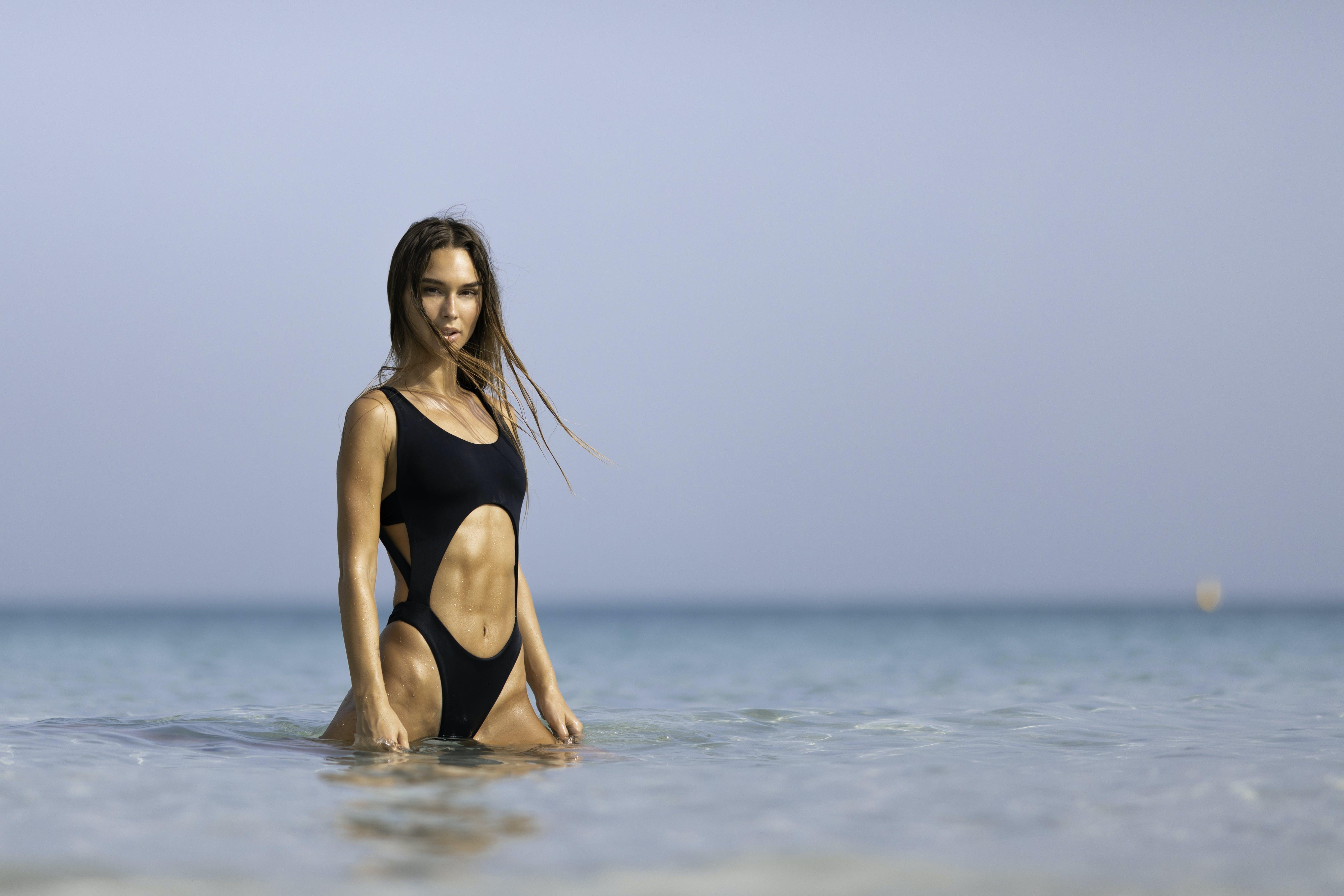 Ảnh lưu trữ miễn phí về biển, bikini, bờ biển, Chân dung