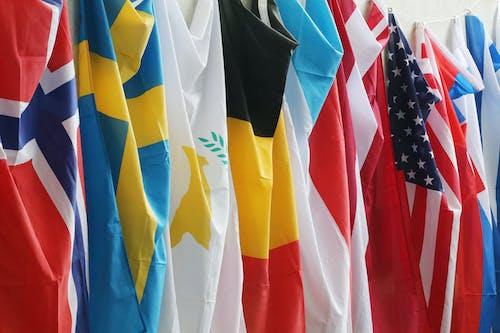 Δωρεάν στοκ φωτογραφιών με παγκόσμιες σημαίες, σημαίες