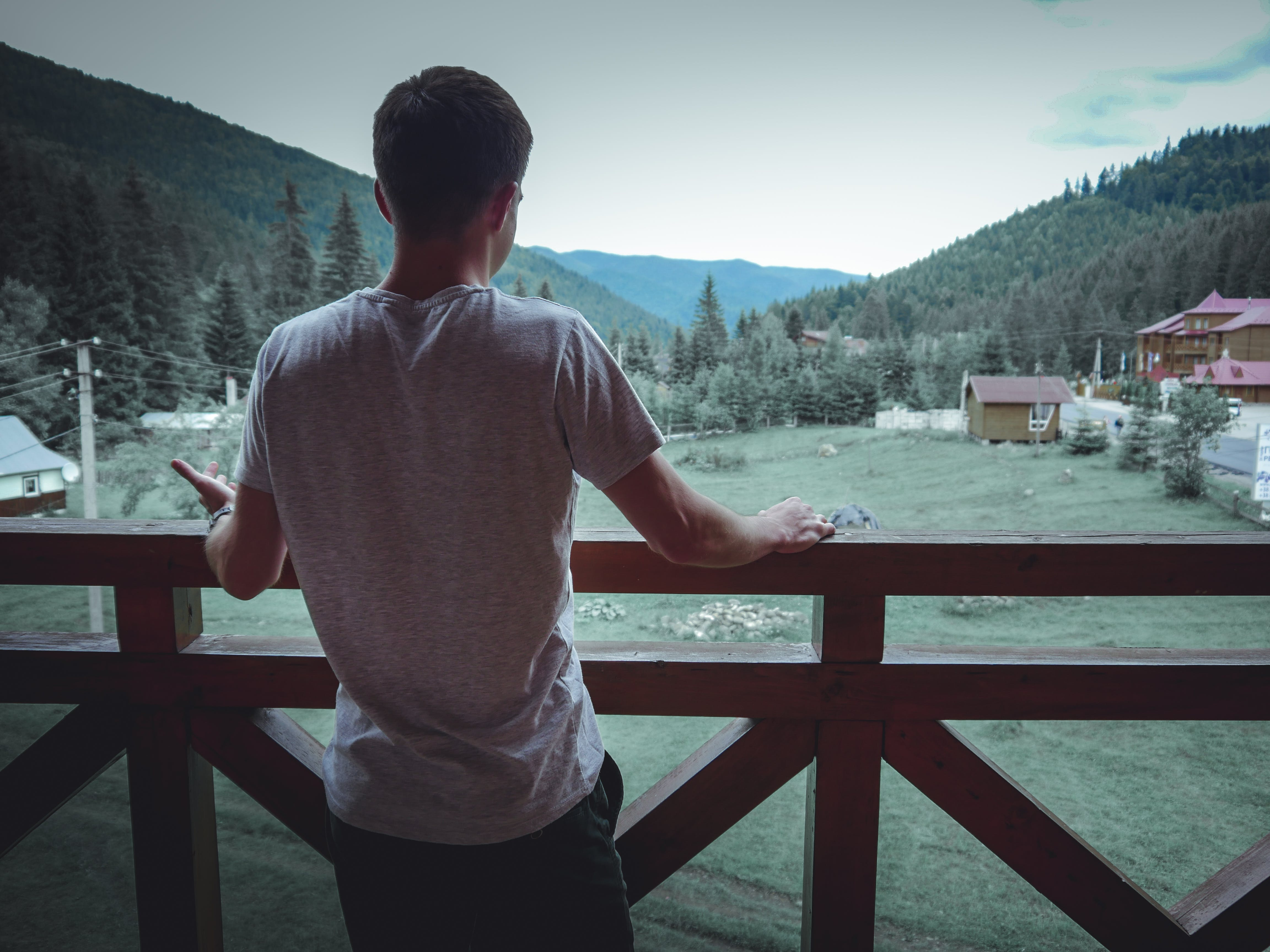 Free stock photo of boy, camp, carpathian, forest