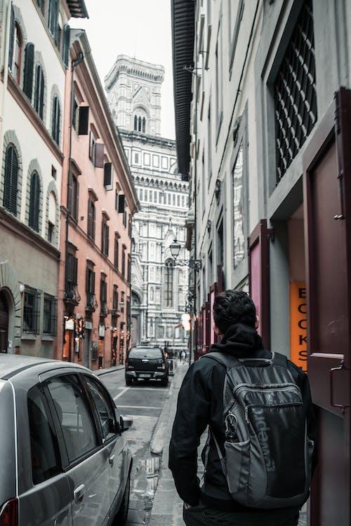 人, 城市, 市中心, 建築 的 免费素材照片