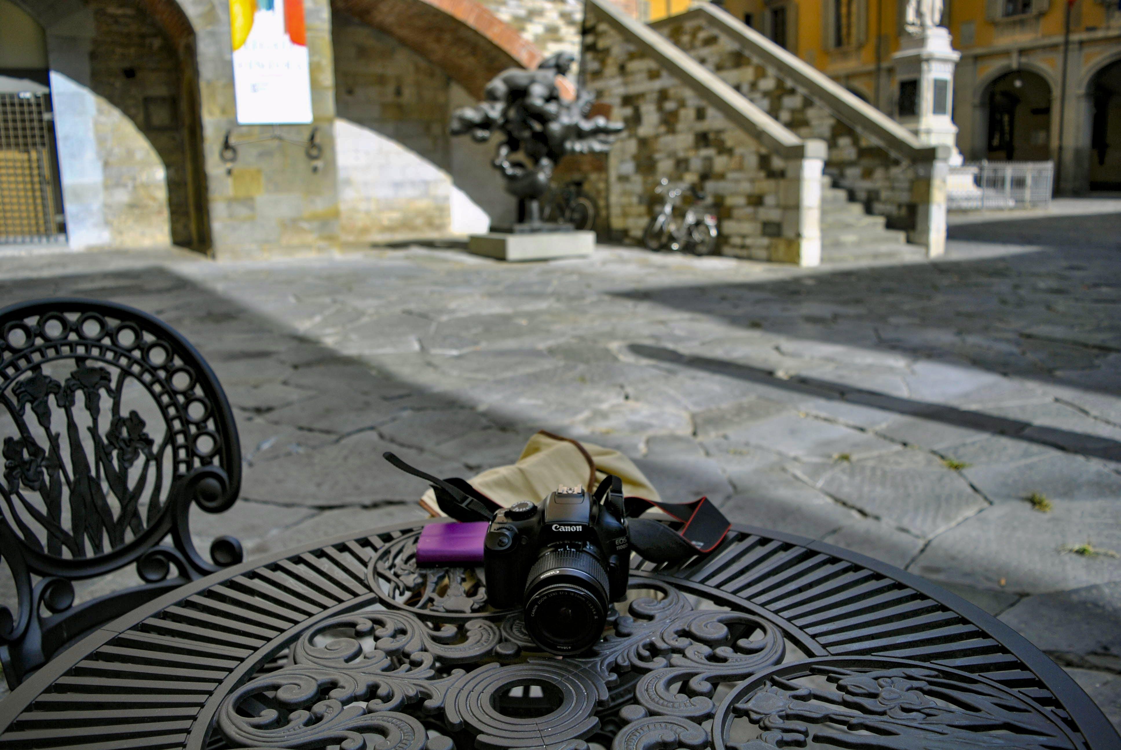 廣場, 相機, 石, 腳步 的 免费素材照片
