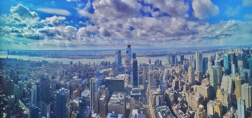 Free stock photo of buildings, clouds, newyork, NY