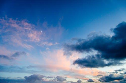 Foto d'estoc gratuïta de cel, cel blau, natura, núvols