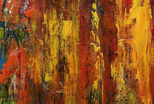 akrilik boya, boyama, branda, çağdaş sanat içeren Ücretsiz stok fotoğraf