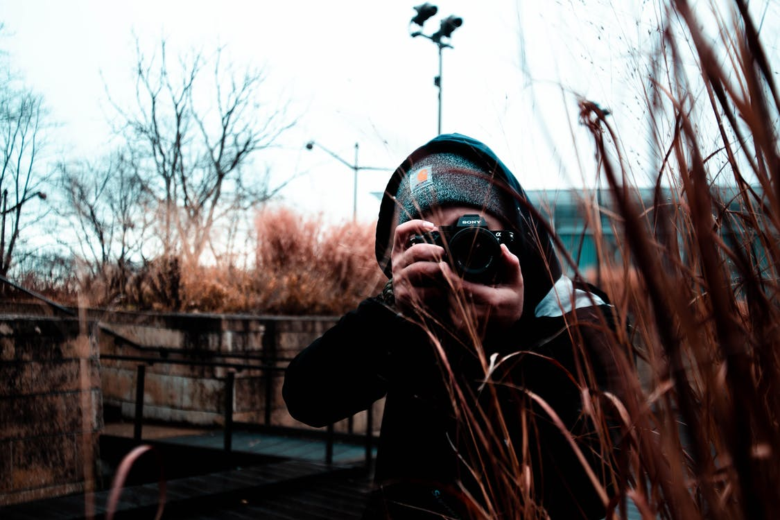 камера, людина, персона