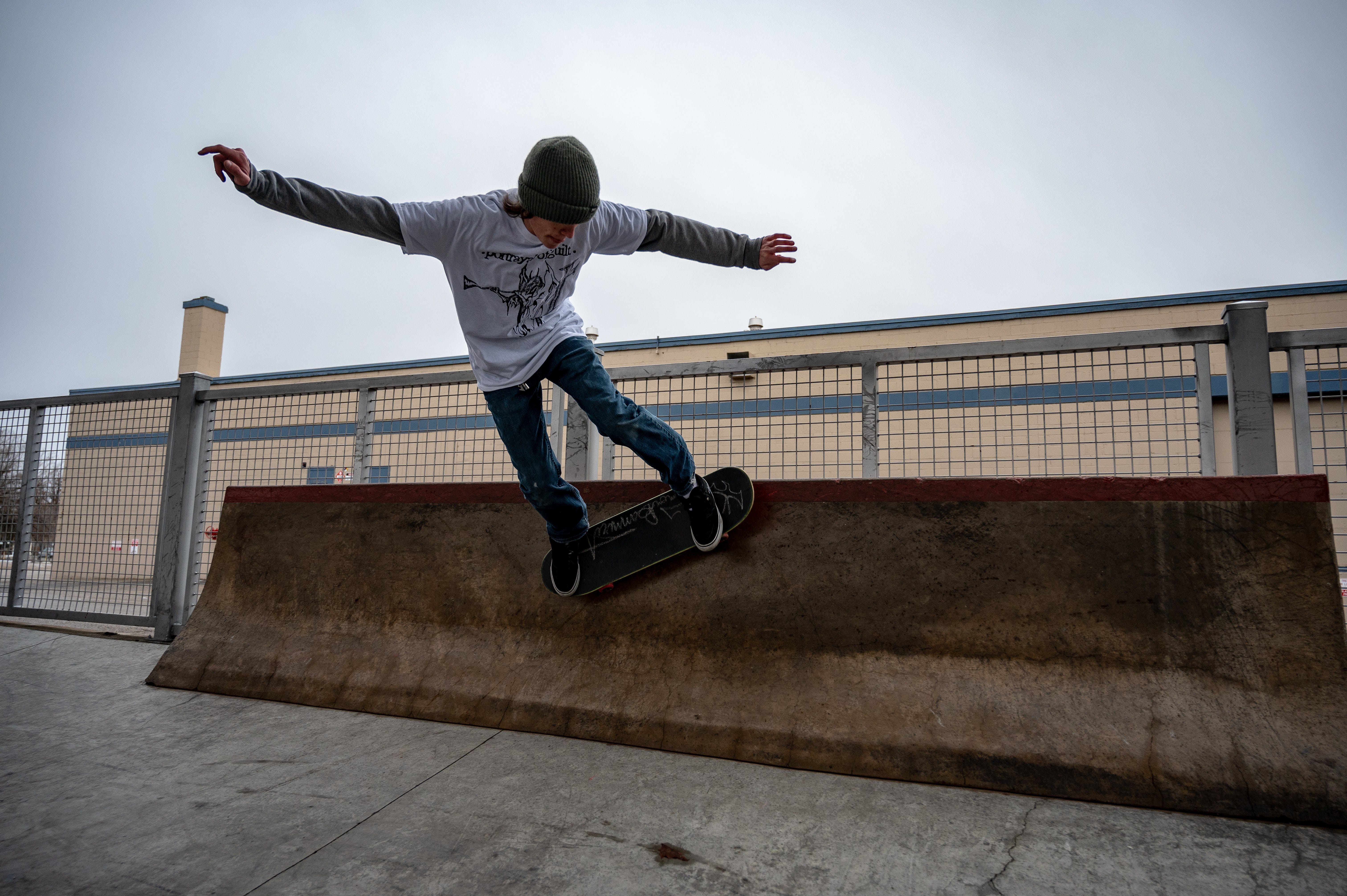 Photo of Person Skateboarding
