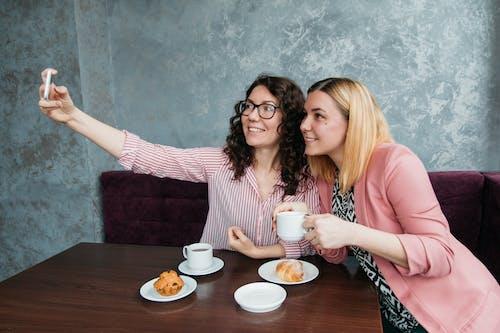 お茶, インドの女性, カップ, カフェの無料の写真素材