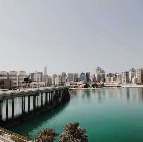 คลังภาพถ่ายฟรี ของ ตึก, ทิวทัศน์เมือง, สถาปัตยกรรม, สะพาน