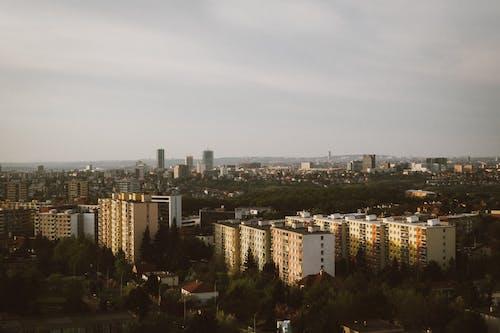 Ảnh lưu trữ miễn phí về bầu trời, các tòa nhà, cảnh quan thành phố, cây