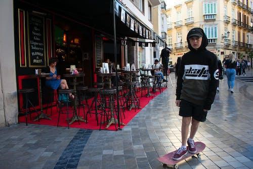 Бесплатное стоковое фото с sk8, кататься на коньках, мальчик