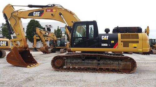 Gratis lagerfoto af 336d2 l excavator caterpillar