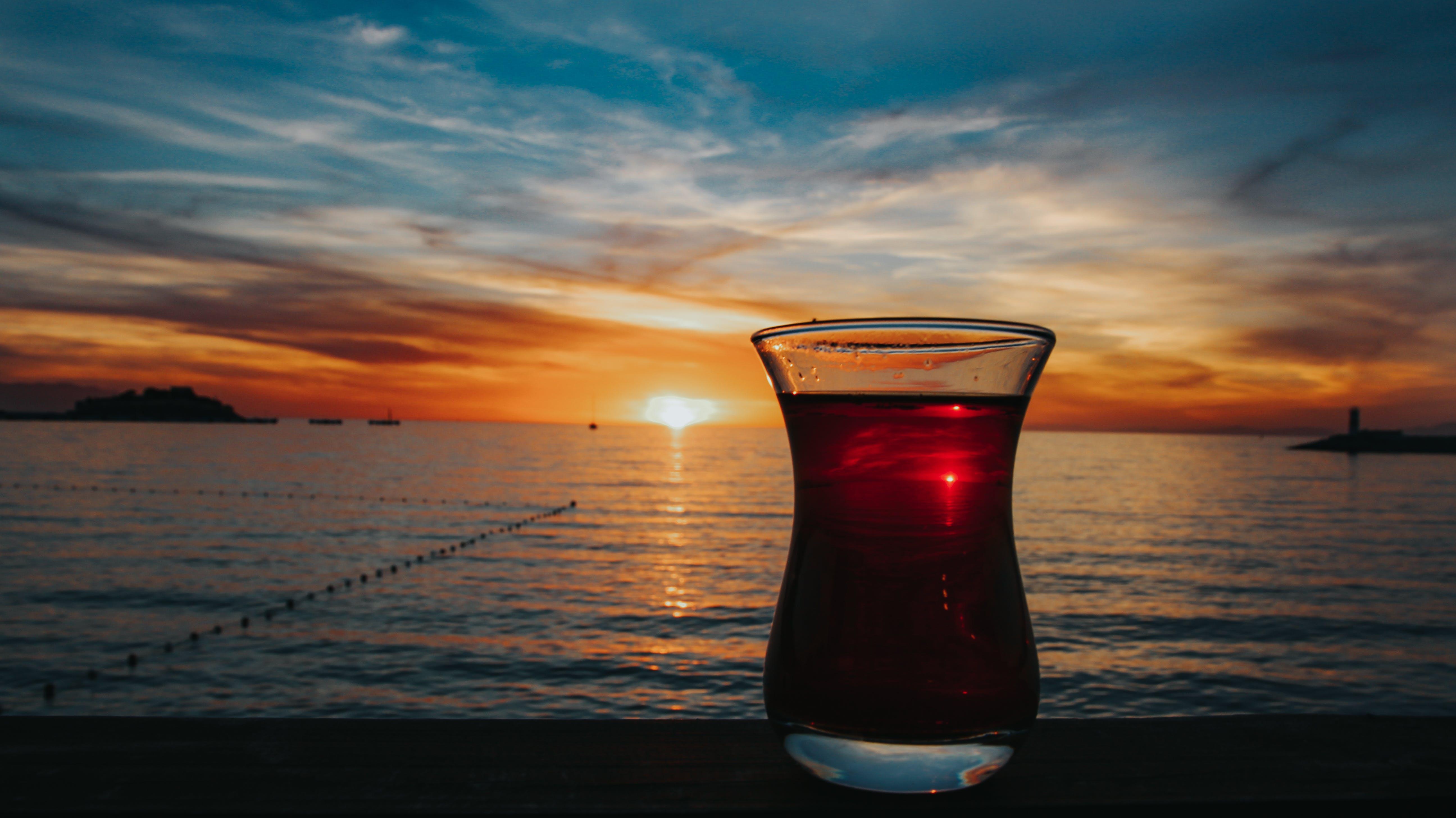 Free stock photo of sea, sky, sun, sunset
