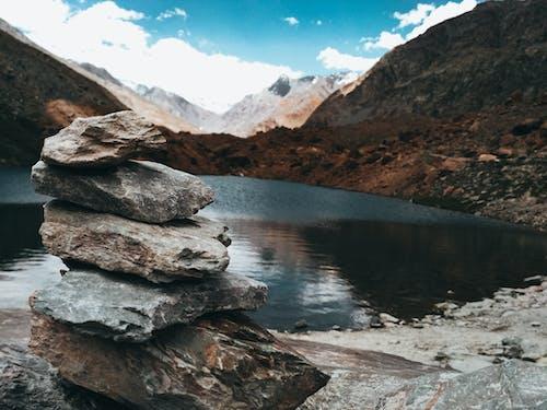 Imagine de stoc gratuită din cer albastru, munți albaștri