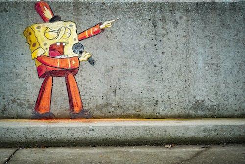 Free stock photo of art, chalk, city, graffiti