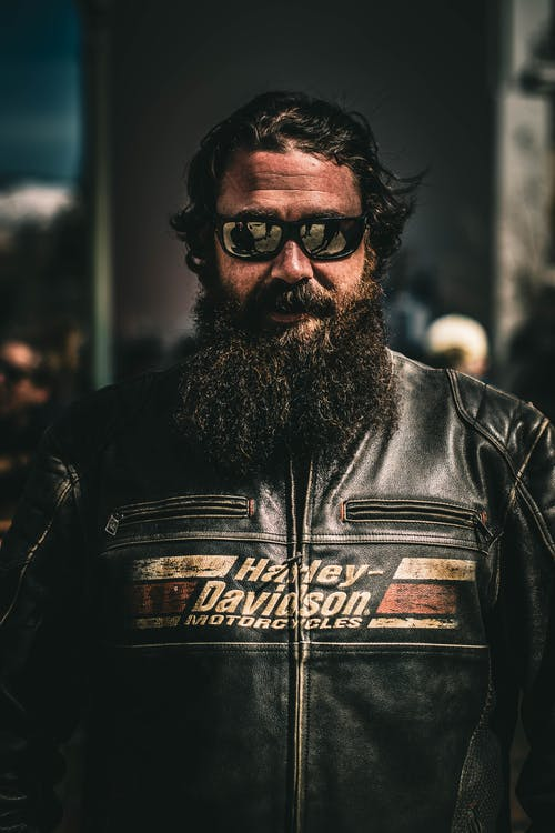 Free stock photo of biker, harley davidson, man, motorcycle